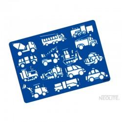Plantilla Camiones Línea Kids Neolite
