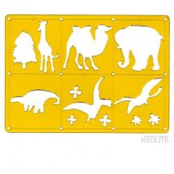 Plantillas de Animales Neolite