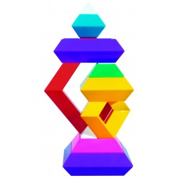 Pirámide Arcoíris