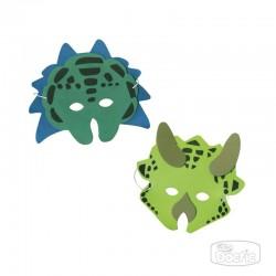 Máscaras de Dinosaurios