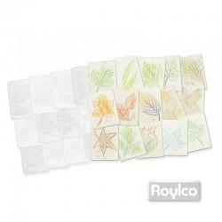 Placas con Texturas de Hojas