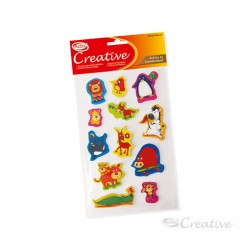 Sticker Goma Eva Animal