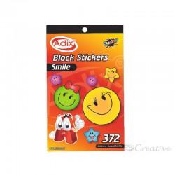 Block Sticker Smile