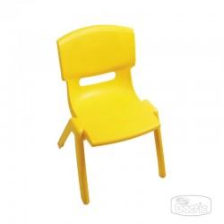 Silla Infantil Plástica Amarilla