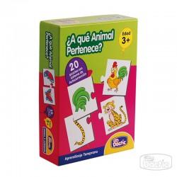 Puzzle ¿A qué Animal Pertenece?