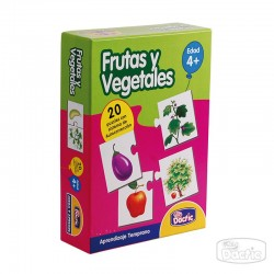 Puzzle de Frutas y Vegetales