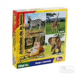 Puzzle de Animales de la Selva