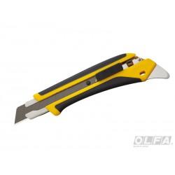 Cuchillo Industrial Incrustación Antideslizante Seguro Automático 18 mm