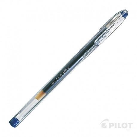 Lápiz Gel G-1 0.5 Azul PILOT