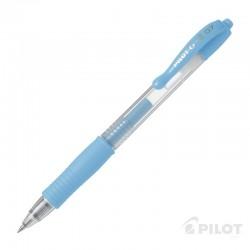 Lápiz Gel G-2 0.7 Azul Pastel PILOT