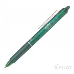 Lápiz Gel FRIXION CLICKER 0.7 Verde PILOT