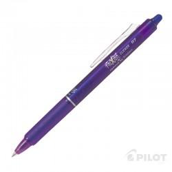 Lápiz Gel FRIXION CLICKER 0.7 Violeta PILOT