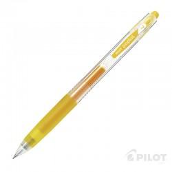 Lápiz Gel POPLOL 0.7 Amarillo PILOT