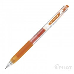 Lápiz Gel POPLOL 0.7 Naranjo PILOT