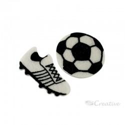 Pelota y Zapatos de Fútbol de Pañolenci