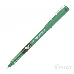 Lápiz Tinta HI-TECPOINT V5 Verde PILOT