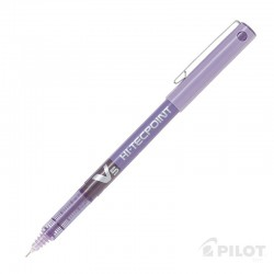 Lápiz Tinta HI-TECPOINT V5 Violeta PILOT