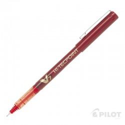 Lápiz Tinta HI-TECPOINT V7 Rojo PILOT