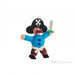 Pirata de Goma Eva para Armar