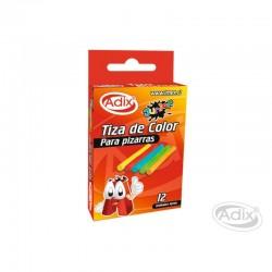 Tiza Colores 12 unid.