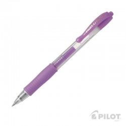 Lápiz Gel G-2 0.7 Violeta Pastel PILOT