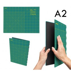 Plancha Salvacortes Plegable FCM-A2. 45 x 62 cm