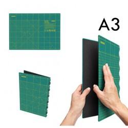 Plancha Salvacortes Plegable FCM-A3. 45 x 32 cm