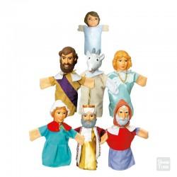 Títeres Nacimiento de Jesús