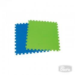Alfombra Goma Eva color Azul-Verde