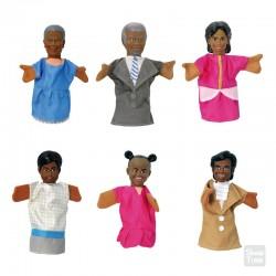 Títeres Familia Africana