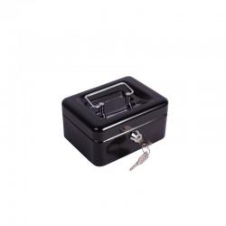 Caja Seguridad 15x12x8cm Negro