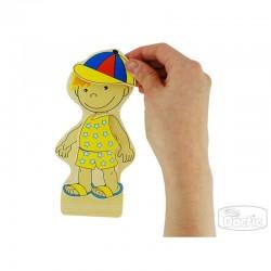 Niño de madera para Vestir