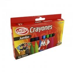 Crayón Jumbo 12 Colores