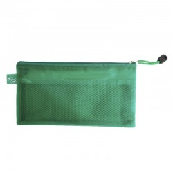 Estuche Escolar PVC Verde