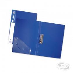 Carpeta A4 c/Apretador Azul