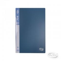 Carpeta A4 10 Fundas Azul