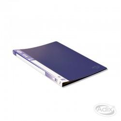 Carpeta A4 20 Fundas Azul