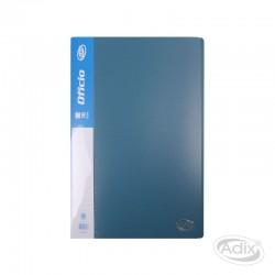 Carpeta Oficio 10 Fundas Azul