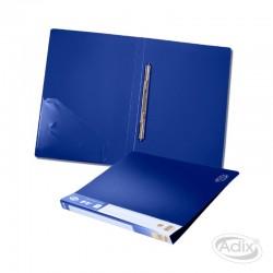 Carpeta A4 c/Clip Gusano Azul