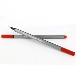Fineliner Triangular Rojo