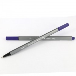 Fineliner Triangular Morado