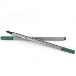 Fineliner Triangular Verde Oscuro