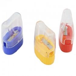 Sacapuntas Plástico c/Contenedor