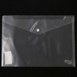 Sobre Plástico A4 c/Broche Transparente