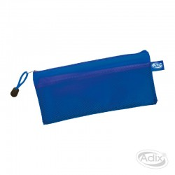 Estuche Escolar PVC Azul