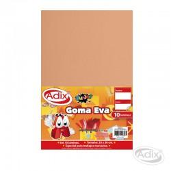 Goma Eva 20x30 cm 10u Color Piel