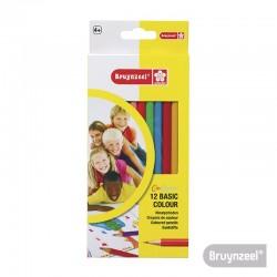 Lápices Color Express Largos 12 Colores Largos
