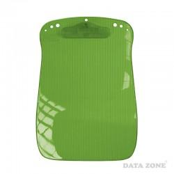 Anotador con Apretador A4 Traslúcido Verde