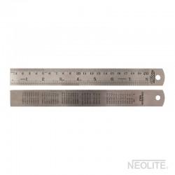 Regla Metálica 20cm