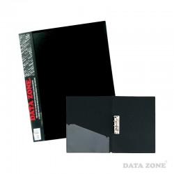 Carpeta A4 c/Apretador y Bolsillo Negro